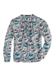 Collection water lily floral top