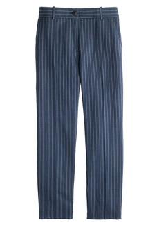 Collection women's Ludlow pant in pinstripe Italian wool