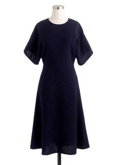 Collection wool bouclé dress