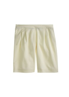 Collection wool crepe short