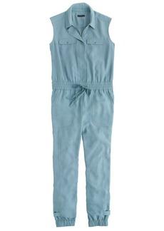 Collection zip-front jumpsuit