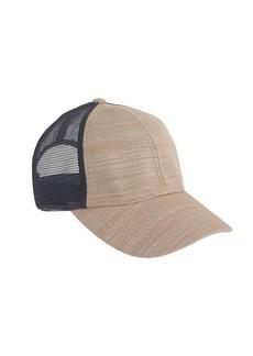Colorblock mesh baseball cap