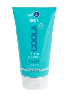 Coola® body SPF 30 unscented moisturizer