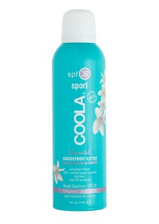 Coola® sport SPF 30 unscented sunscreen spray
