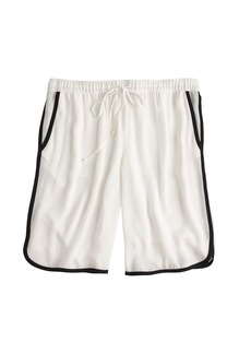 Crepe athletic short