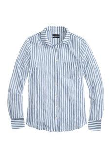 Crinkle gauze boy shirt