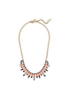 Crystal baguette necklace