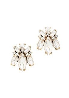 Crystal bug earrings
