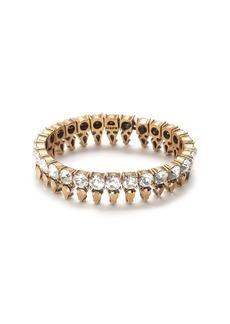 Crystal points stretch bracelet