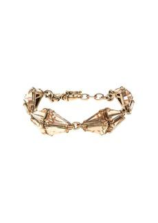 Crystal prism bracelet
