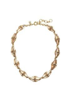 Crystal prism necklace