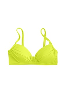 D-cup neon ruched french top