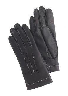 Dents® cashmere-lined deerskin gloves