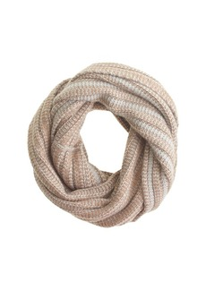 Diamond stitch infinity scarf