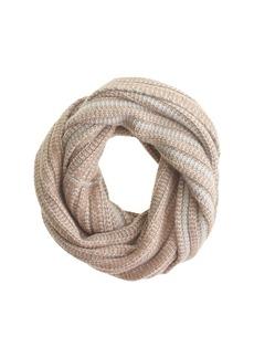 Diamond stitch infinity scarf