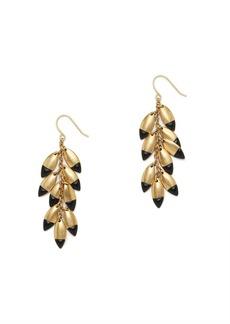 Dipped point earrings