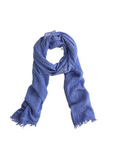 Distressed scarf
