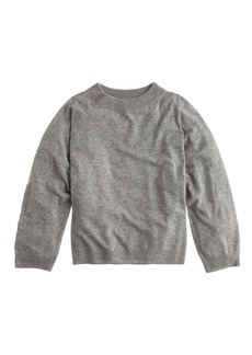 Dolman sweater with rib trim