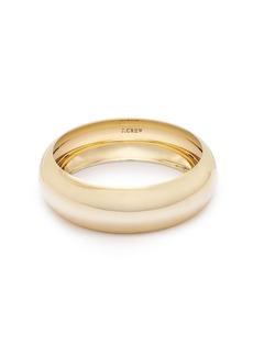 Domed bangle bracelet