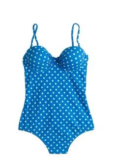 Dotty underwire one-piece swimsuit