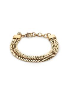 Double-chain bracelet