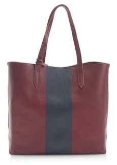 Downing tote in colorblock stripe