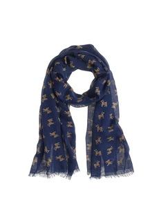 Drake's® for J.Crew dog print scarf