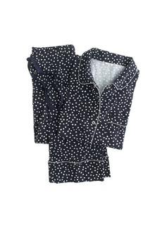 Dreamy cotton pajama set in heart