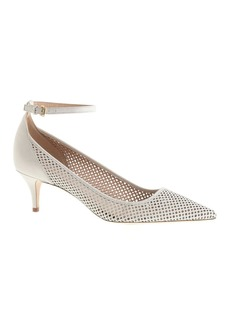 Dulci perforated kitten heels