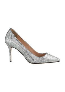 Elsie crackled metallic pumps