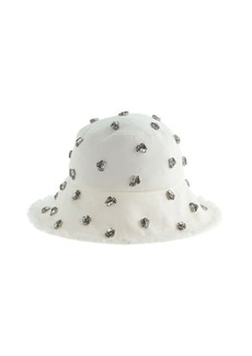 Embellished bucket hat