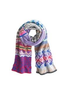 Eribé® collector's scarf in Fair Isle