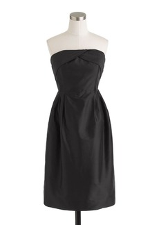 Erin dress in silk dupioni