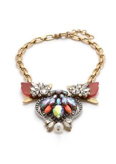 Estate jewel necklace