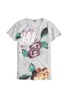 Exploded floral tee