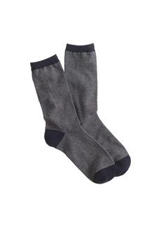 Fine-stripe trouser socks