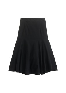 Flare skirt in Super 120s wool