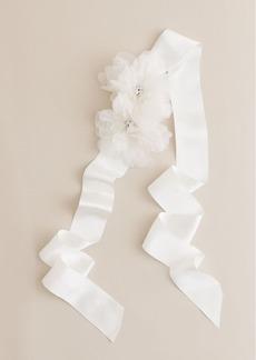 Floral bouquet sash