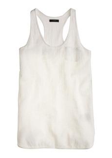 Gauze tank dress