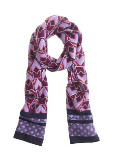 Geo diamond scarf