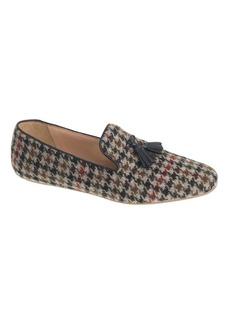 Georgie fabric tassel loafers