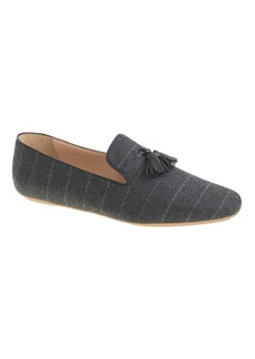 Georgie fabric tassel loafers