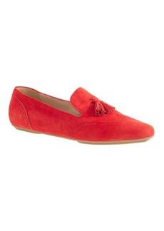 Georgie suede tassel loafers