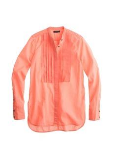 Grosgrain ribbon shirt in neon