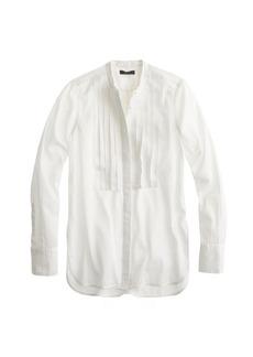 Grosgrain ribbon tux shirt