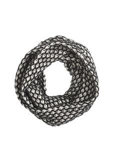 Honeycomb infinity scarf