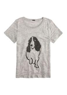Hugo Guinness™ for J.Crew dog linen tee
