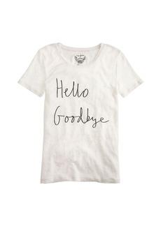 Hugo Guinness™ for J.Crew hello goodbye linen tee
