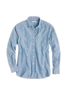 Japanese selvedge chambray shirt
