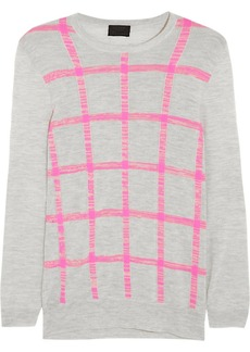 J.Crew Collection intarsia cashmere sweater